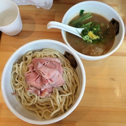 「濃厚真鯛つけ麺 ¥850」@真鯛らーめん 麺魚の写真