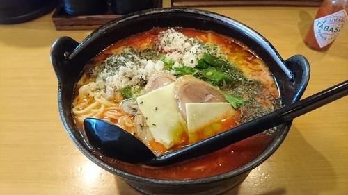 「【季節限定】濃厚トマト麺」@麺処そばじんの写真