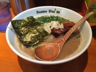 「濃厚らーめん」@麺Dining Number Nine 09の写真