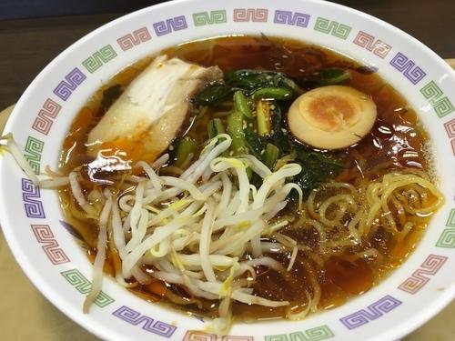 「ピリ辛野沢菜ラーメン」@諏訪湖SA(上り)の写真
