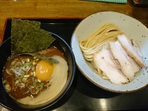 「特製つけそば(麺少なめ)¥1040」@市川ウズマサの写真