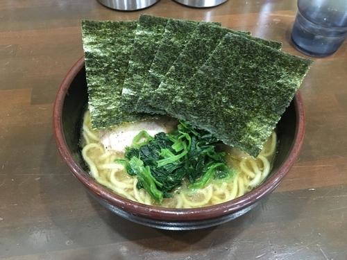 「ラーメン(麺固め)+味玉」@究極汁麺 はねだ家の写真