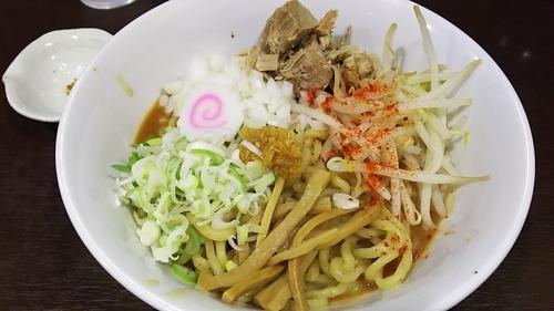 「海老まぜそば(並)¥820」@らぁ麺 一歩の写真