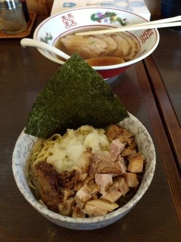 「和え玉(単品注文不可、麺類注文の方のみ注文可能)」@つけ麺 弥七の写真