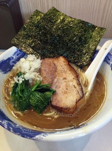 「SR7コラボリレー限定麺(830円)限定山かけ丼(300円)」@麺屋 扇 SENの写真