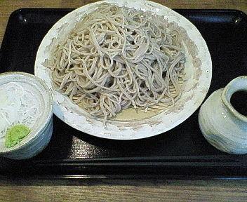 「得もりそば(2人前の量) 961円」@つだぬまやの写真