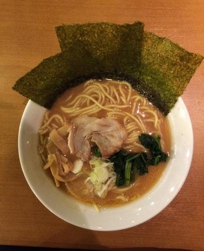 「醤油ラーメン 670円」@横浜らーめん桜花の写真