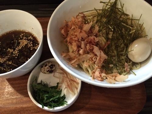 「【2016夏季限定】冷やしつけそば  ¥750」@麺屋きころくの写真