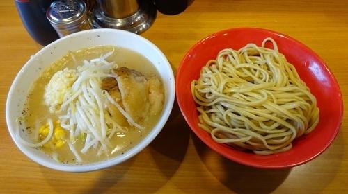 「なみのりつけ麺(880円)ニンニク」@ラーメン二郎 八王子野猿街道店2の写真