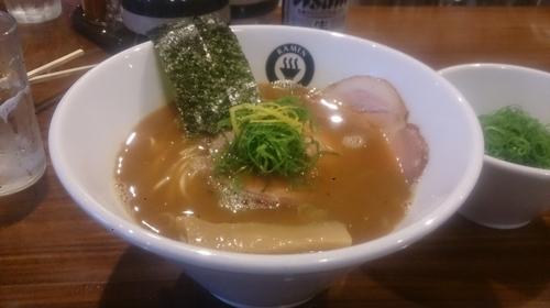 「らーめん+九条ねぎ」@RAMEN GOTTSUの写真
