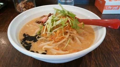「みそかラーメン」@8823製麺の写真