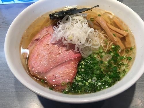 「煮干(塩)+チャーシュー1枚」@喜乃壺の写真