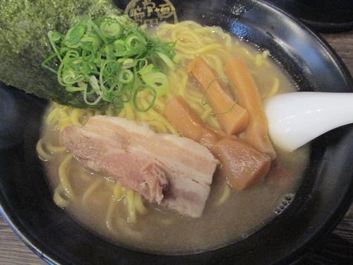 「煮干塩らーめん 「690円」」@節骨麺たいぞう 西日暮里店の写真