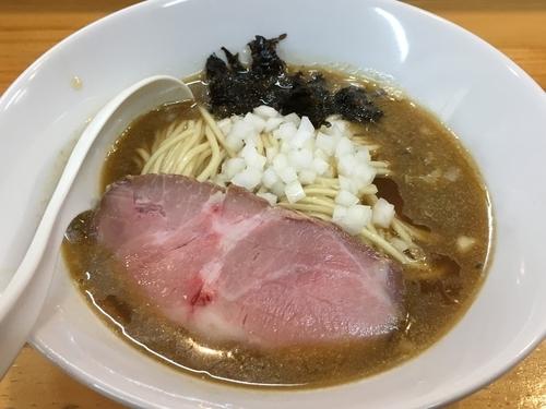 「煮干そば(醤油) +和え玉、味玉」@煮干中華ソバ イチカワの写真