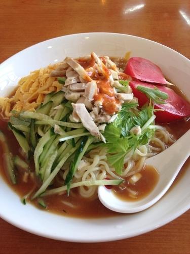 「棒棒鶏冷し麺」@福臨酒家の写真