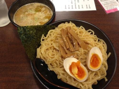 「つけ麺(冷盛、味玉)」@つじのやの写真