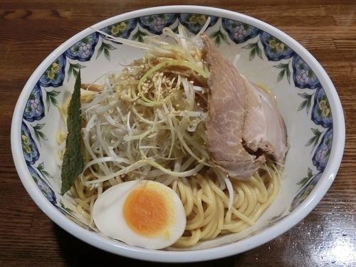 「油麺(大盛)+ねぎ」@江川亭 武蔵村山店の写真