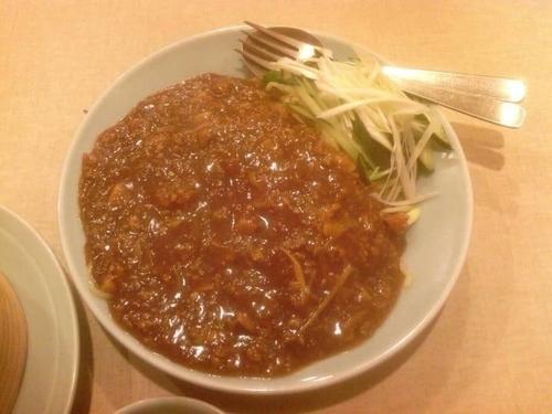 「ジャージャー麺 750円+焼売 ???円」@中国料理 大味の写真