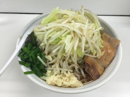 「鶏郎醤油味 大盛(850円」)」@ラーメンKAZE 本店の写真