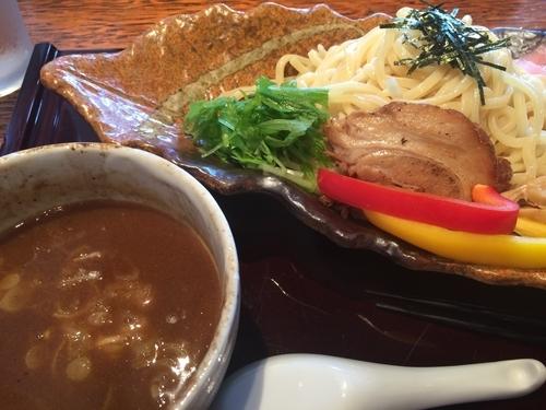 「つけ麺 男子 大盛り」@ふかや女子流 アイモの写真