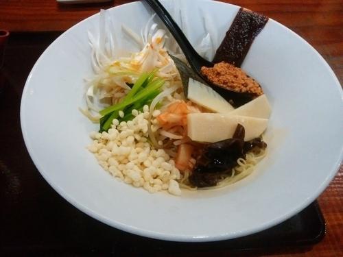 「まぜ麺(冷・細麺)」@イツワ製麺所食堂の写真