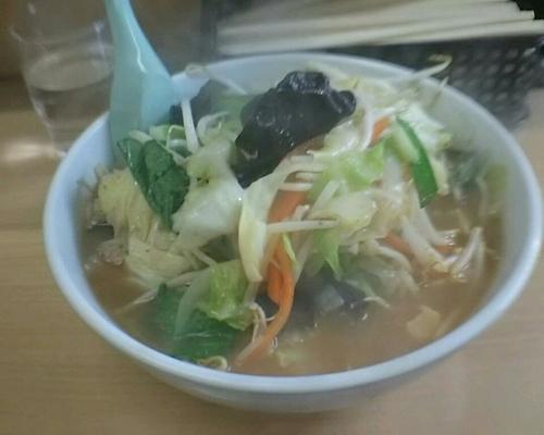 「チャーハンセット味噌タンメン900円」@タンメン胖の写真