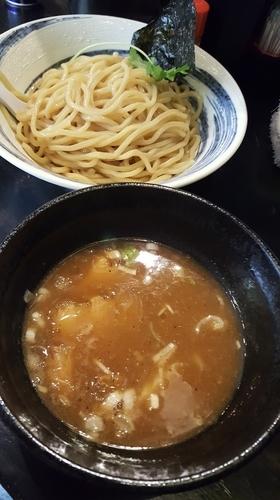「濃厚煮干しつけ麺 (大)」@つけ麺 弐☆゛屋の写真