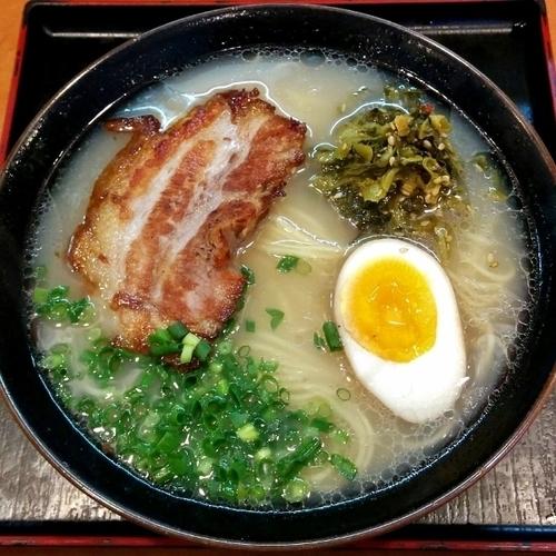 「一枚チャーシュー麺」@ラーメン櫻島 月寒東店の写真