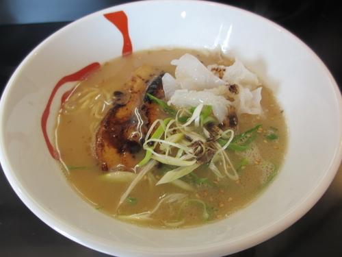 「白湯醤油¥700」@らーめん白虎の写真