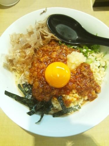 「台湾まぜそば」@麺家 えびすの写真