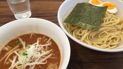 「辛味噌つけ麺」@麺や とらの写真