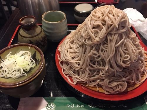 「もりそば 富士山盛 500円」@味奈登庵 横浜天理ビル店の写真