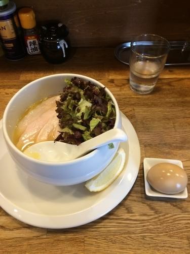 「鶏白湯らーめん塩」@麺屋時茂の写真
