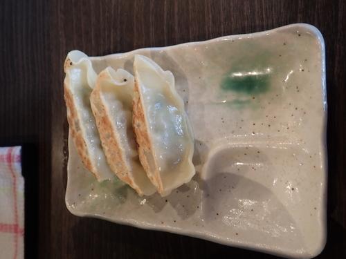 「(ランチタイム限定)餃子3個(150円)」@らーめん 福たけの写真