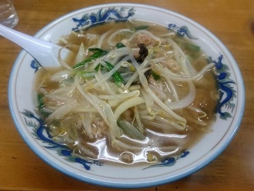 「肉糸湯麺 650円」@珍満の写真