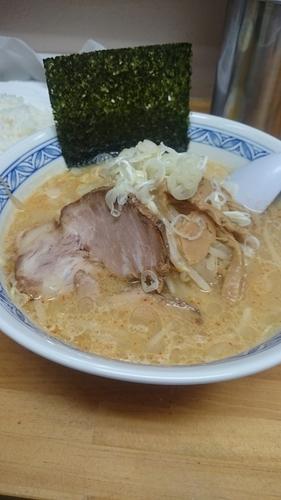 「味噌ラーメン(800円)+小ライス(100円)」@北海道らーめん しゅんの写真