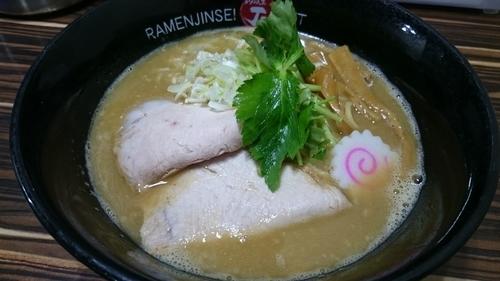 「鶏煮込みそば」@ラーメン人生 JET 福島本店の写真