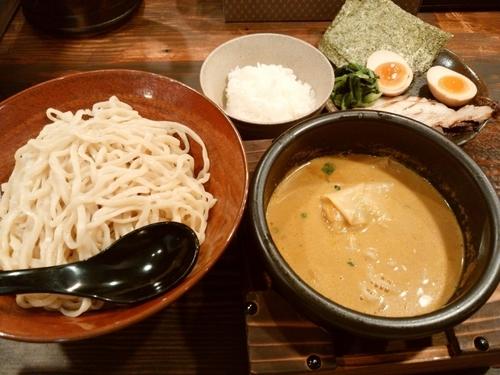 「特製カレーつけ麺」@しゅういち 等々力店の写真