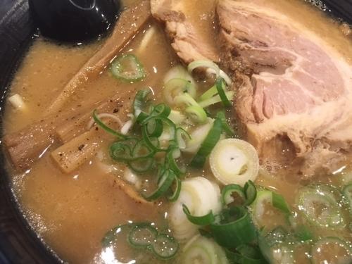 「煮干しラーメン600円」@熊本ラーメン 麺王の写真