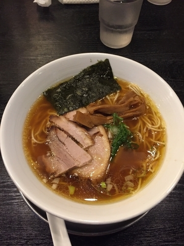 「ラーメン醤油味」@麺行使 伊駄天 静岡店の写真