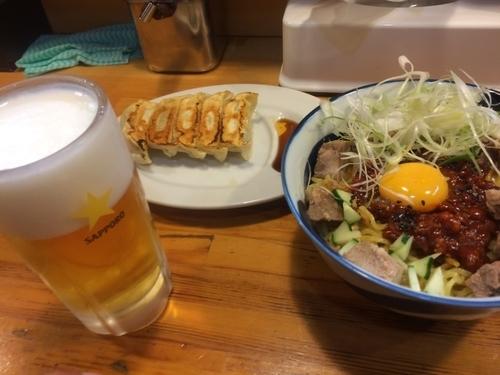 「冷しジャー麺」@札幌らーめん 北一 狸小路店の写真