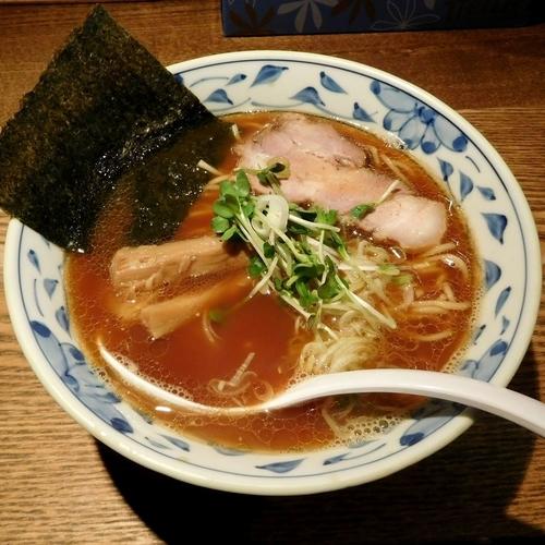 「魚薫ラーメン(750円)」@麺部 しば盛の写真