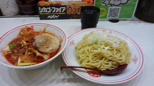 「冷やし味噌野菜(大盛)+チャーシュー¥1090」@蒙古タンメン 中本 上板橋本店の写真