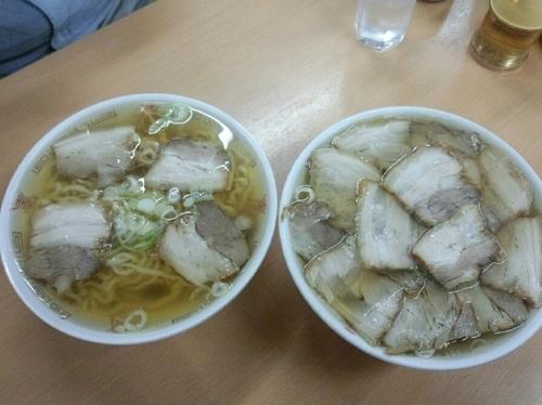「支那そば  肉そば」@坂内食堂 喜多方本店の写真