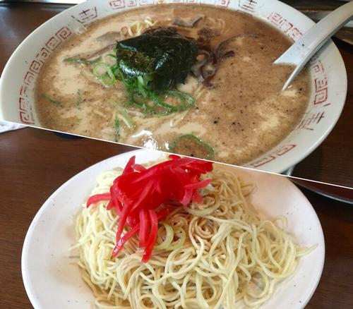 「豚骨塩ラーメン(ハリガネ) ¥500+替玉¥50」@十七代目 哲麺 小平店の写真