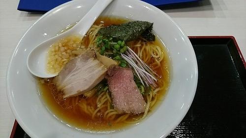 「鶏・煮干SOBA(並)850円」@銀座 篝 ラゾーナ川崎プラザ店の写真