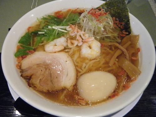 「限定:えび塩830円+味玉100円」@麺日和 そらやの写真