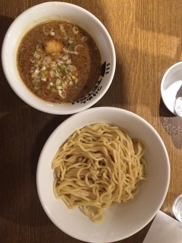 「つけ麺、味玉」@TETSU 品川店の写真