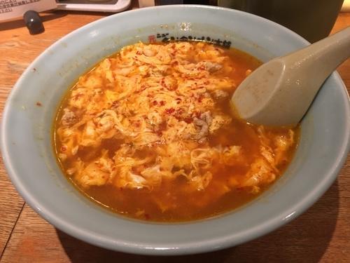 「担々麺(中辛) 750円」@元祖ニュータンタンメン本舗 仙台長町店の写真