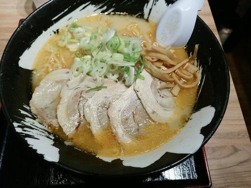 「味噌チャーシュー麺」@札幌ラーメン 雪あかりの写真